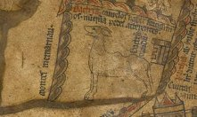 Fig. 5 Hereford Camel (really) https://www.themappamundi.co.uk/mappa-mundi/