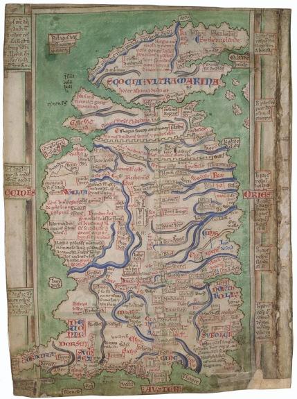 Matthew Paris Map