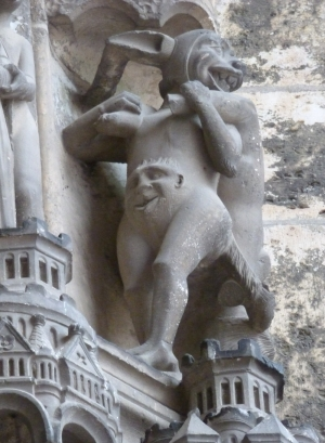 Fig. 1 Chartres Demon
