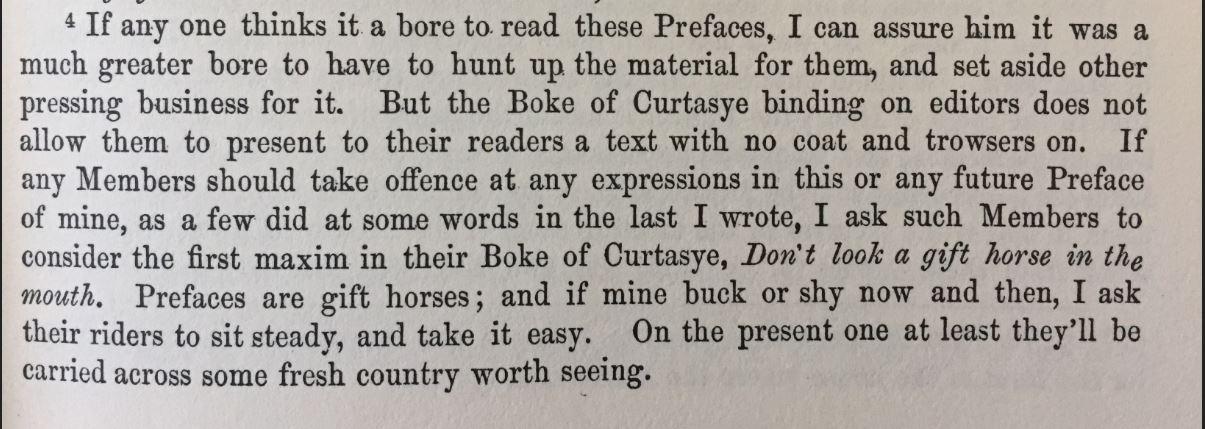 boring prefaces