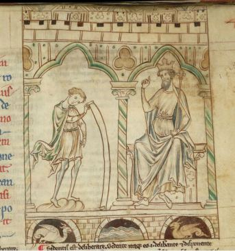 Merlin, Vortigern and dragons