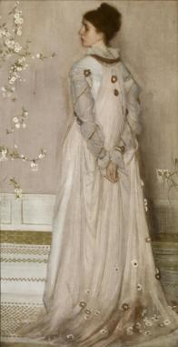 Symphony in Flesh Color and Pink: Portrait of Mrs. Frances Leyland James McNeill Whistler (American, 1834–1903). Date: 1871–74