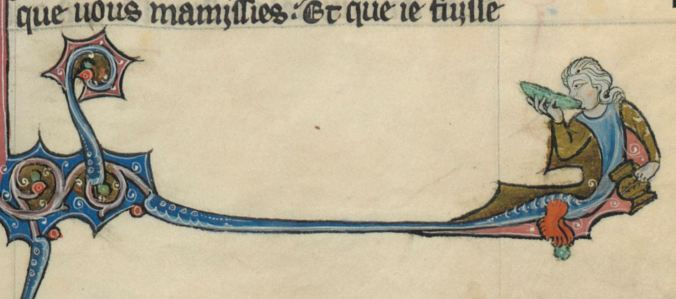 134r romans arthurien 134r cukes in the margins